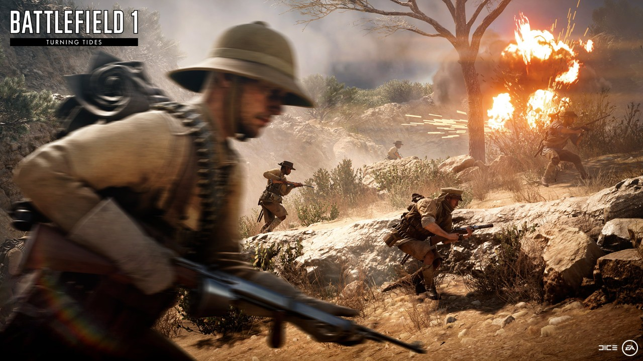 Battlefield 1 Getting Meat Cleaver in Apocalypse DLC