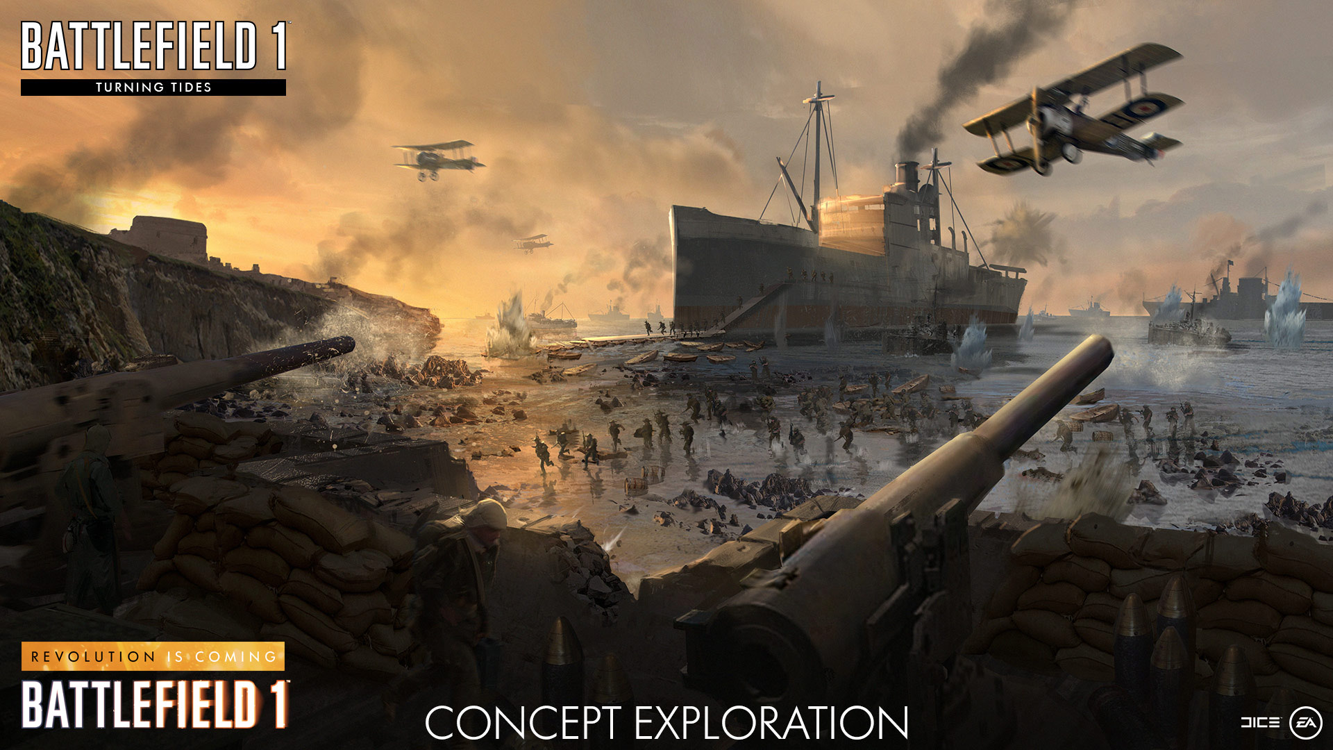 The road ahead for battlefield 1 revolution is coming - Battlefield v concept art wallpaper ...