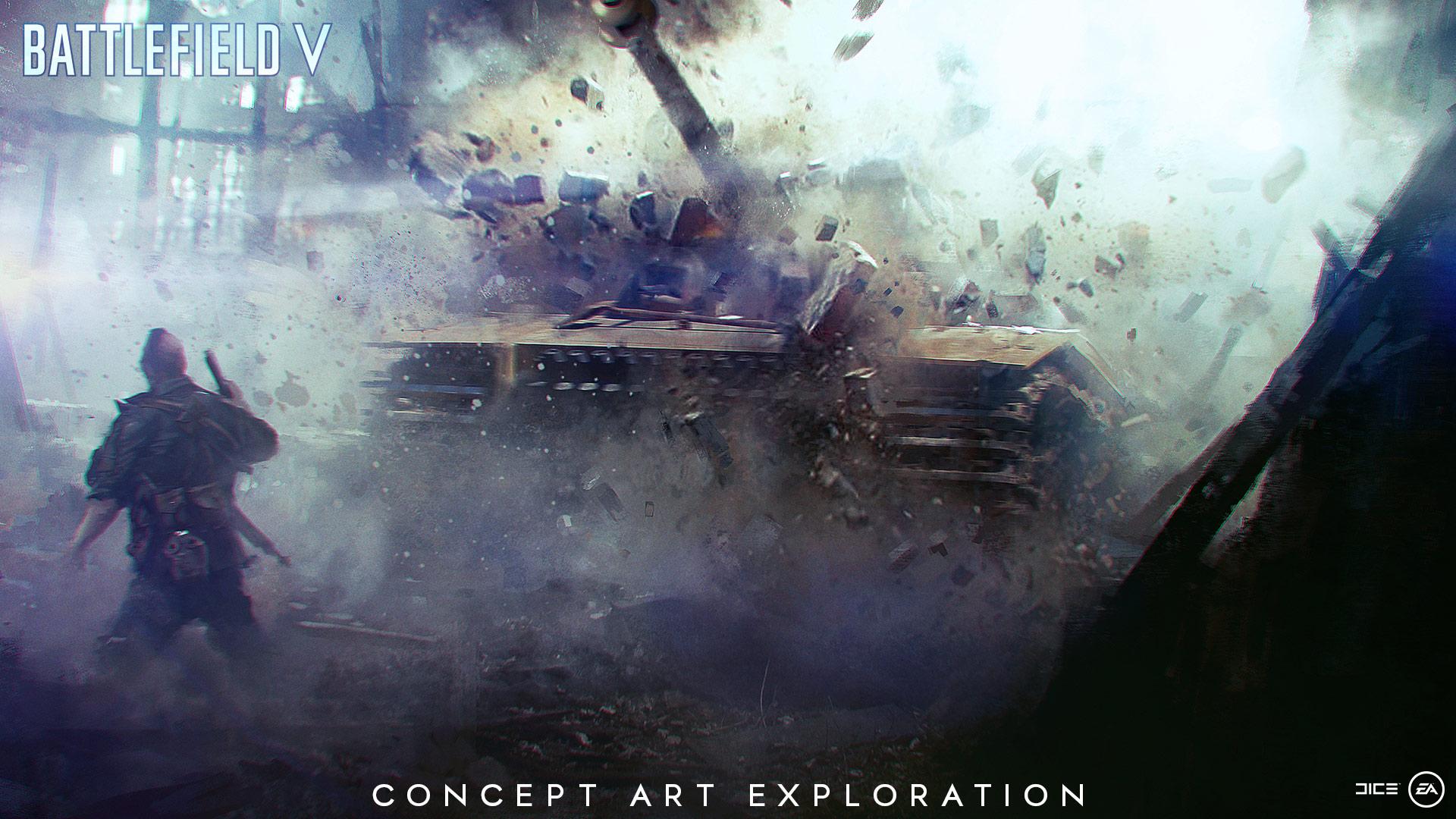 Battlefield v ww2 as you have never seen it before - Battlefield v concept art wallpaper ...