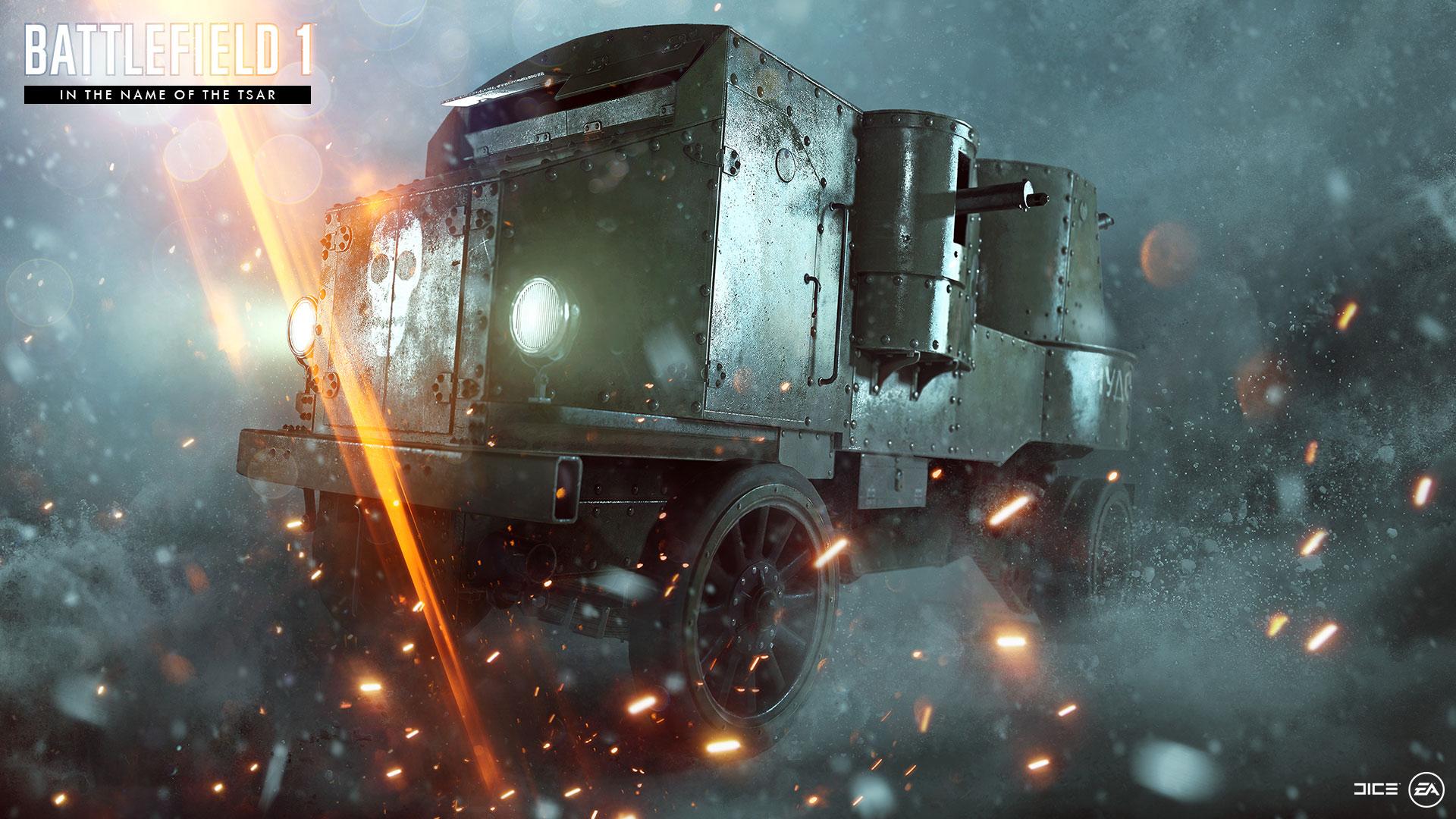 """Названа дата релиза Battlefield 1: """"Во имя царя"""""""