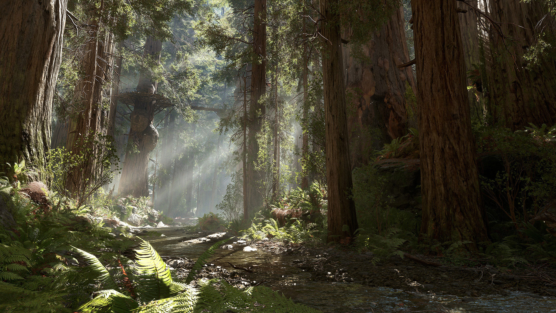 House Technology The Star Wars Battlefront Planets Creating Endor Star