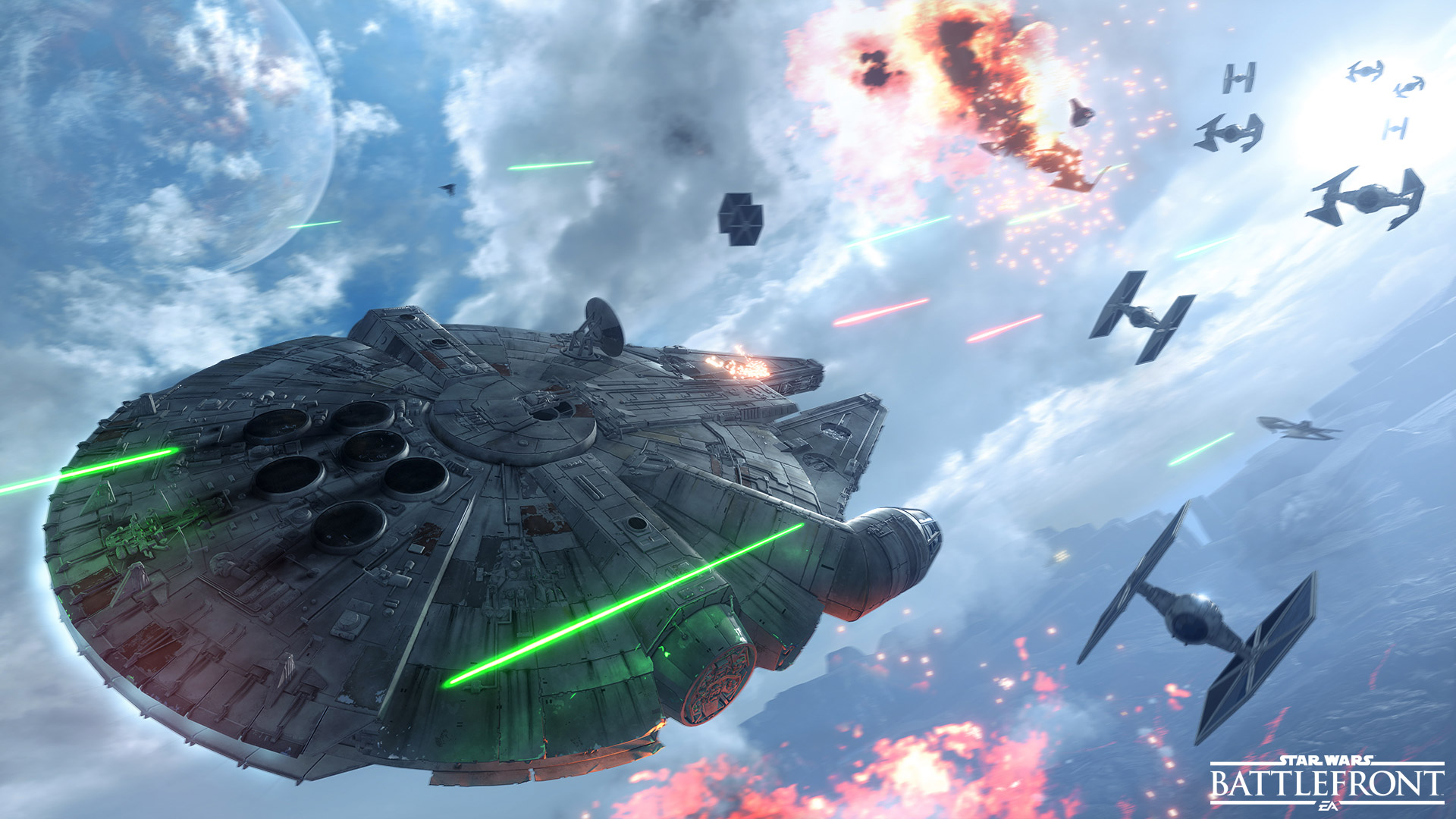 Live Out Your Star Wars™ Dogfight Fantasies with Fighter Squadron Mode - Star Wars - Official EA Site