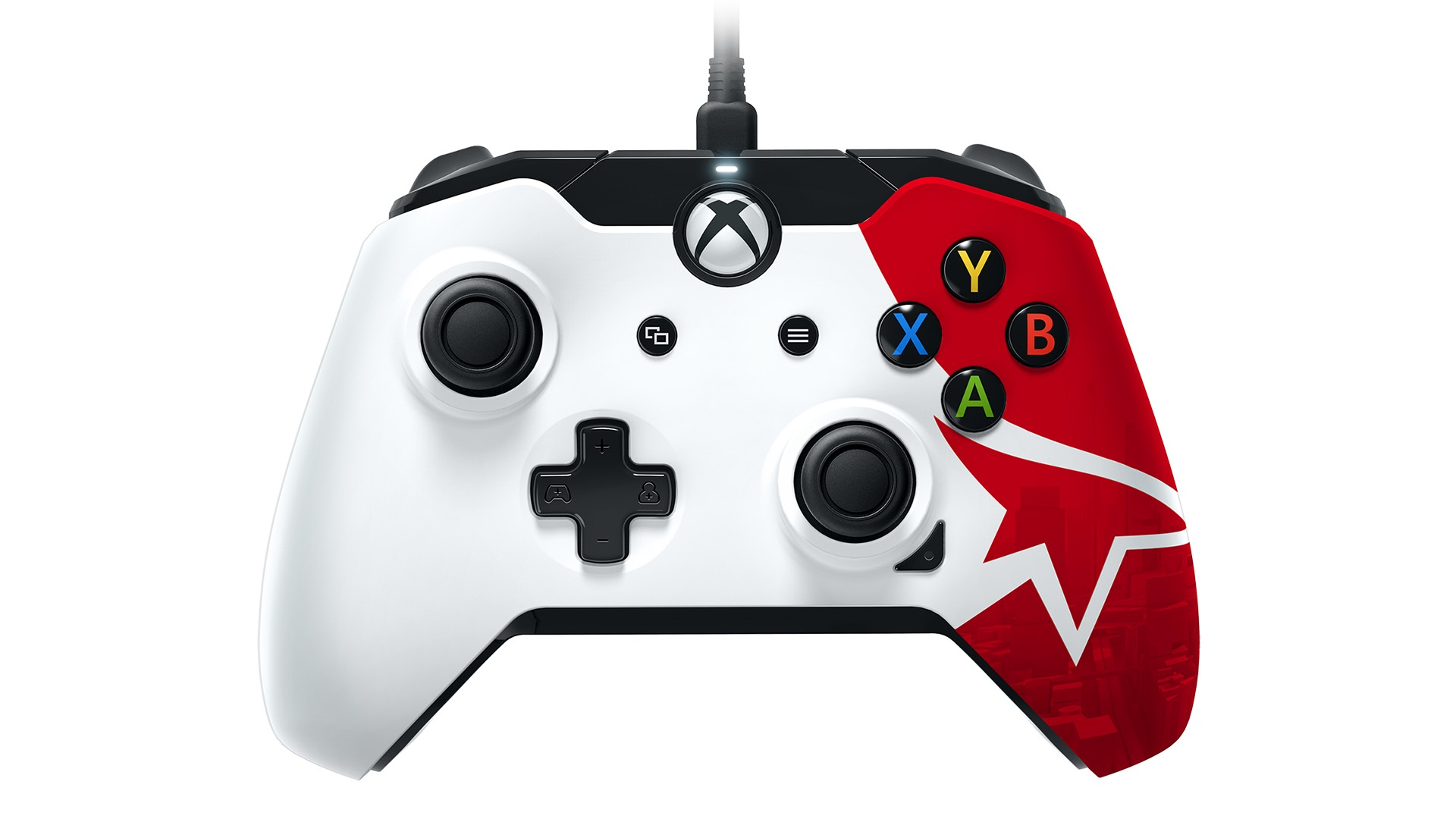 Performance designed products to release mirrors edge catalyst a limited edition officially licensed controller for xbox one showcasing art from mirrors edge catalyst is on its way ccuart Image collections