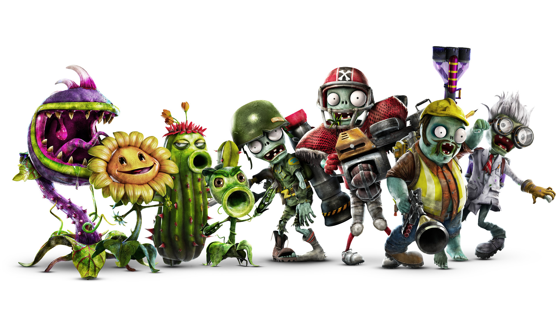 Plants Vs Zombies Garden Warfare 2 Faq Zu Den Neuen Charakteren