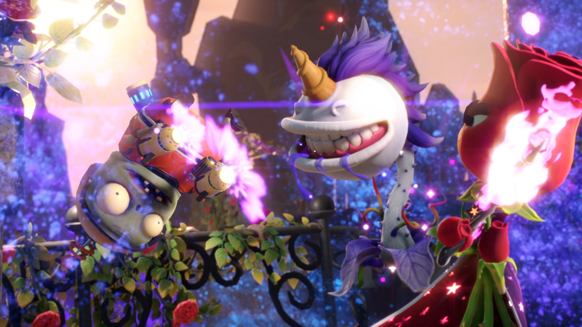 Plants Vs. Zombies Has Always Been Known For Its Amazing Characters, And Plants  Vs. Zombies Garden Warfare 2 Comes With The Baddest Characters Yet.