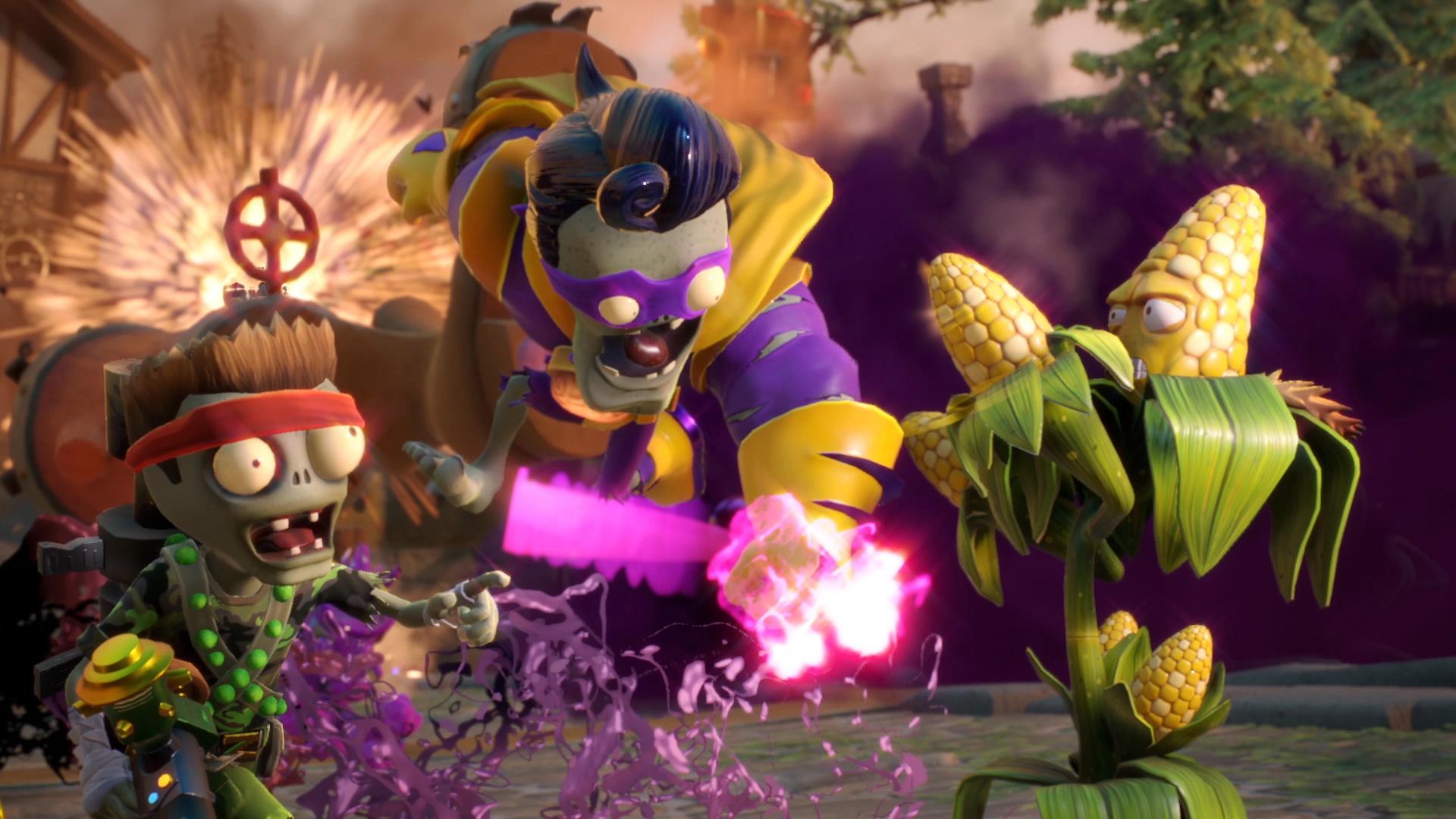 Plants Vs Zombies Garden Warfare 2 Is Bigger Badder Bigger Launched