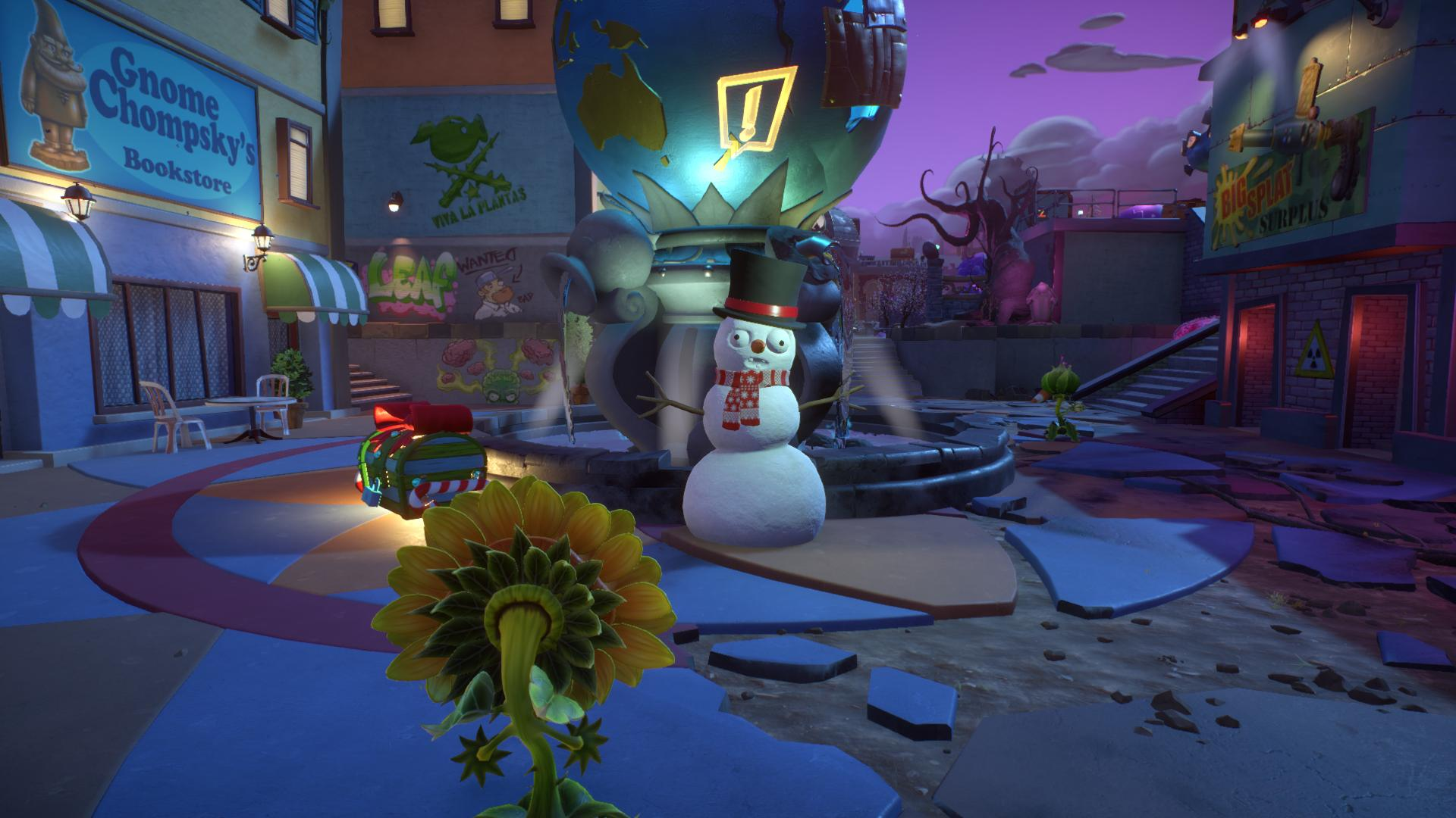Get New Feastivus Customizations In Plants Vs. Zombies Garden Warfare 2