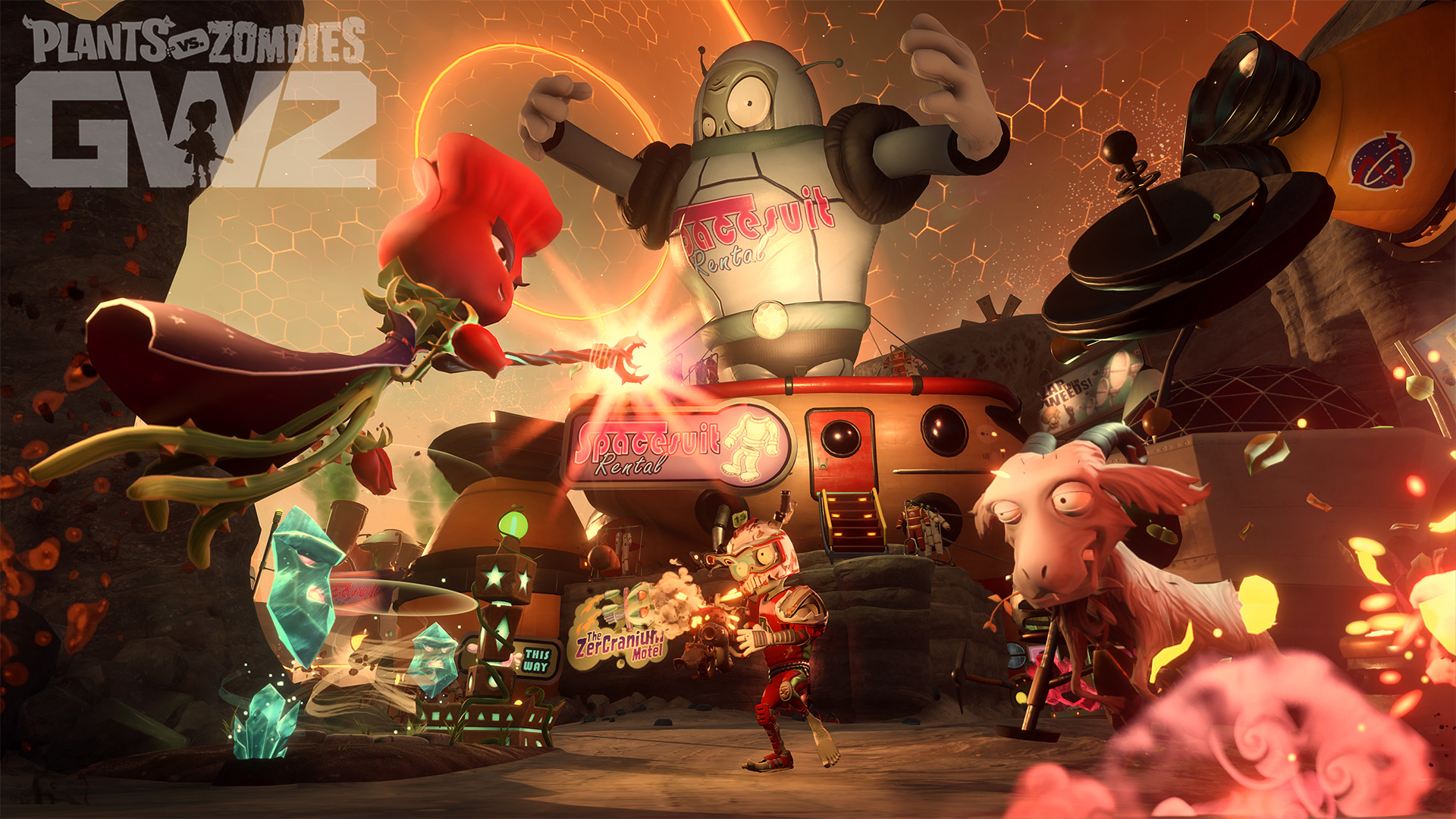 Play Plants vs  Zombies Garden Warfare 2 with a Free Origin