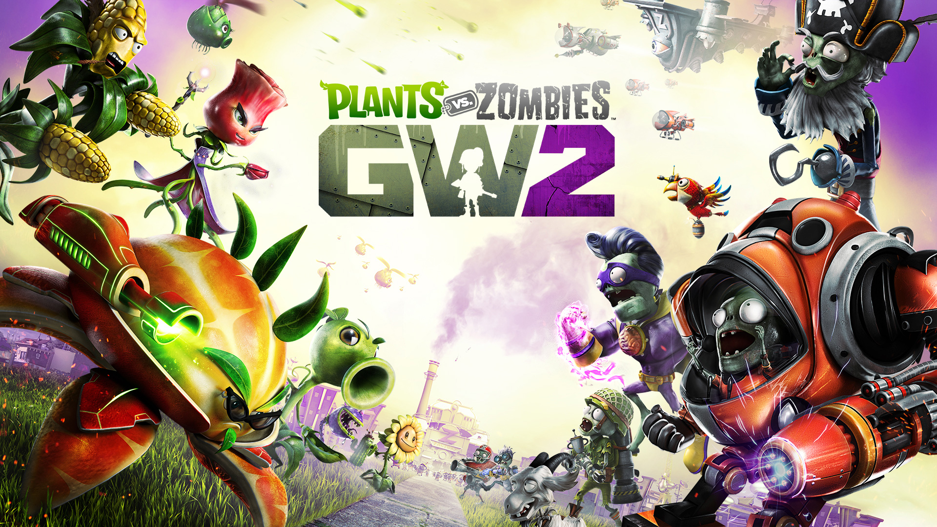 Resultado de imagem para Plants vs. Zombies Garden Warfare 2 playstation