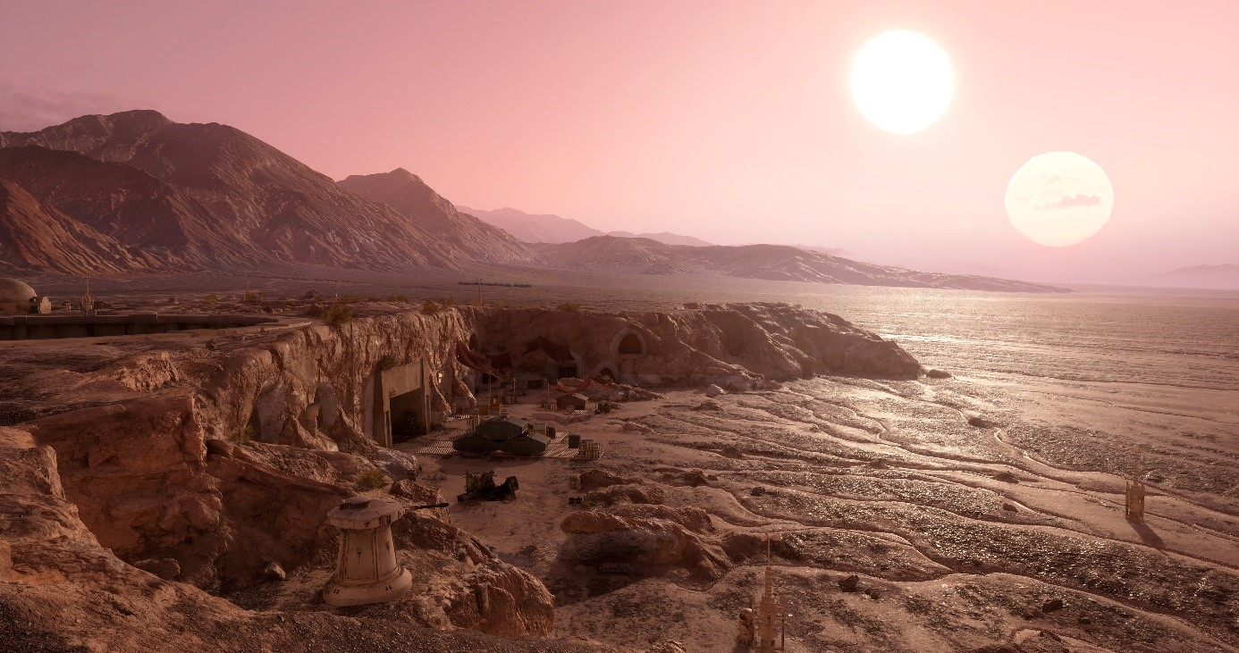The star wars battlefront planets creating tatooine for Home img