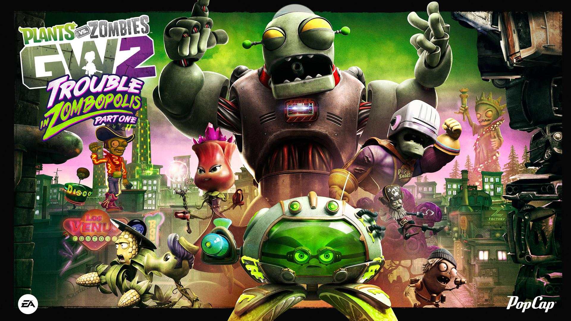 Plants Vs Zombies Garden Warfare 2 Official Site