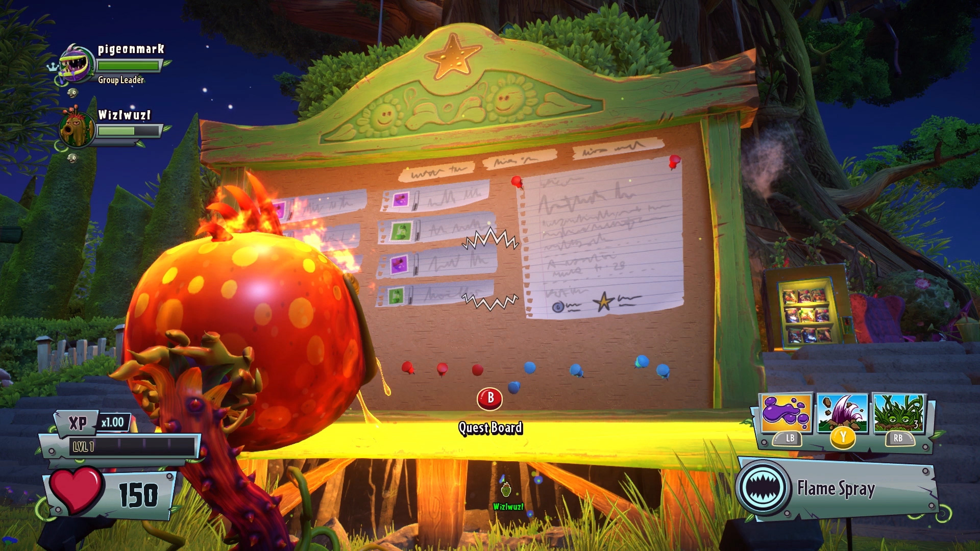 Xp and progression in plants vs zombies garden warfare 2 for Plants vs zombies garden warfare 2 2 player